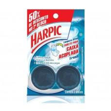 Harpic Caixa Acoplada Aqcua Marine 2 Blocos 100g