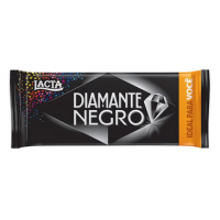 Barra de Chocolate ao Leite Diamante Negro 90g