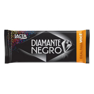 Barra de Chocolate ao Leite Diamante Negro 90g