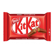 Mini Barra de Chocolate ao Leite com Biscoito Kit Kat 41,5g