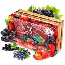Polpa Pé de Fruta Frutas Vermelhas Com Uva 400g