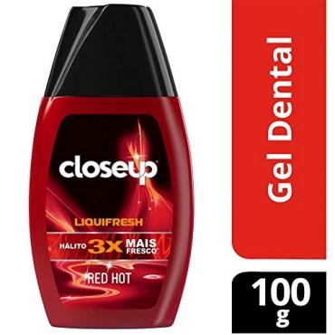 Creme Dental em Gel Close Up Liquifresh Red Hot 100g