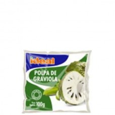 Polpa De Fruta Ideal Graviola 400g