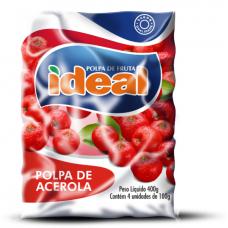 Polpa De Fruta Ideal Acerola 400g