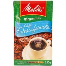 Café Vácuo Melitta Descafeinado Clássico 250g