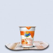 Iogurte Parcial Desnatado Laranja Cenoura e Mel Isis 150g