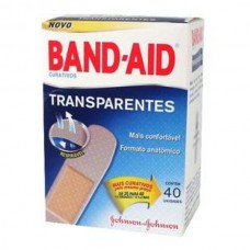 BAND-AID Transparentes Johnson & Johnson 40 Unidades