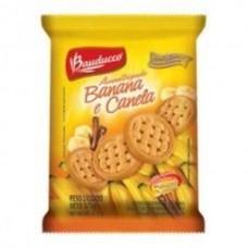 Biscoito Amanteigado Banana Com Canela Bauducco 375g