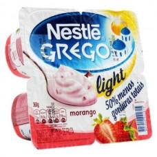 Iogurte Nestlé Grego Light Morango 360g