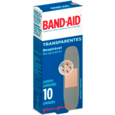 Band-Aid Transparente 10und