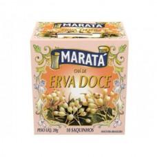 Chá de Erva Doce Marata 20g 10 Saquinhos