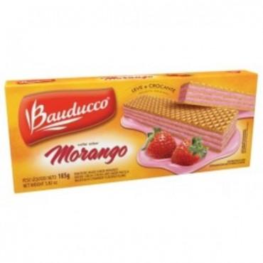 Biscoito Bauducco Wafer Morango 78g