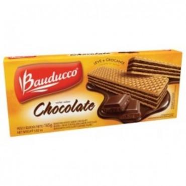 Biscoito Bauducco Wafer Chocolate 78g