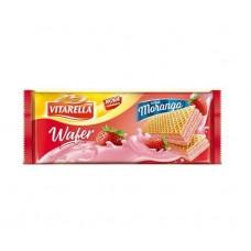 Biscoito Wafer Vitarella Morango 120g