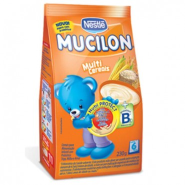 Mucilon Multi Cereais Sachê 230g