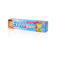 Gel Dental Even Baby Sem Fluor 50g
