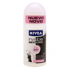 Desodorante Roll On Nivea Invisible For Black & White 50ml