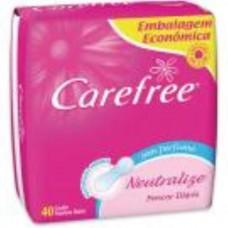 Absorvente Carefree Proteção Sem Fragrância 15und.