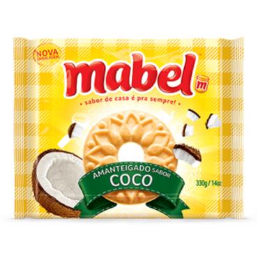Biscoito Amanteigado Mabel Coco 330g