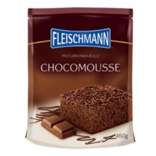 Mistura Para Bolo Fleischmann Chocomousse 450g