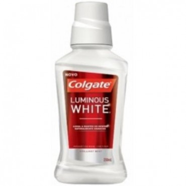 Antiséptico Colgate Luminous White 250ml