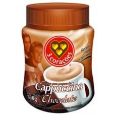 Café Cappuccino 3 Corações Chocolate 200g