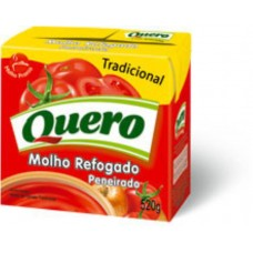 Molho de Tomate TradicionalPeneirado Quero 520g
