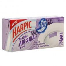 Pastilha Adesiva Harpic Lavanda 3und.