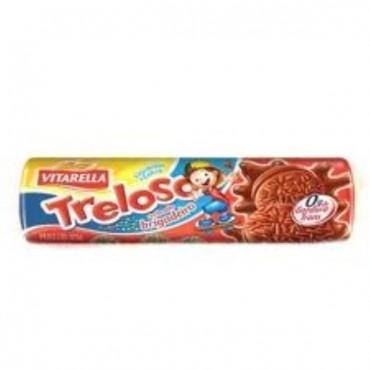 Biscoito Recheado Treloso Brigadeiro 130g
