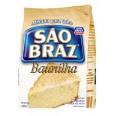 Mistura para Bolo Baunilha São Braz 400g