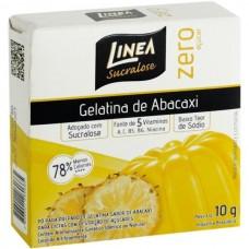 Gelatina de Abacaxi Linea Zero Açucar 10g