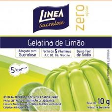Gelatina de Limão Linea Zero Açucar 10g