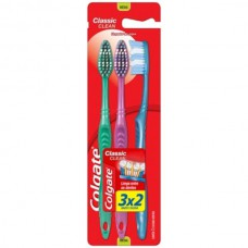 Escova Dental Colgate Classic Clean Media 3x2