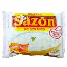 Tempero Sazon Arroz Branco 60g