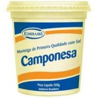 Manteiga Com Sal Camponesa 500g