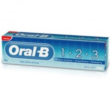 Creme Dental Oral-B 123 Anti Caries Menta Suave 70g