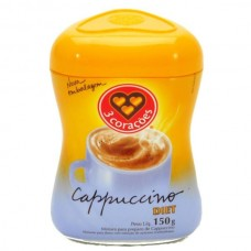 Cappuccino 3 Corações Diet 150g