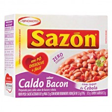 Caldo de Bacon Defumado Sazon 37,5g cx.