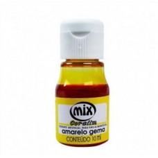 Corante Liquido Mix Amarelo Gema 10ml