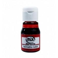 Corante Liquido Mix Vermelho Natal 10ml
