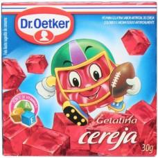 Gelatina em Pó Cereja Dr. Oetker 30g