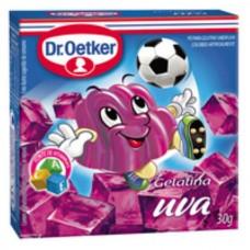 Gelatina em Pó Uva Dr. Oetker 30g