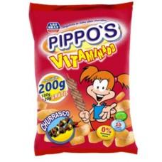 Salgadinho Pippos Churrasco 200g