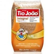 Arroz Tio João Integral 1Kg