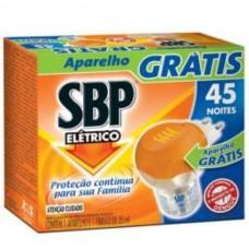 Inseticida SBP Elétrico Liquido 45 Noites Refil + Aparelho grátis