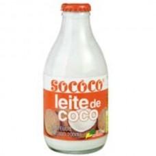 Leite de Coco Sococo Vidro 200ml