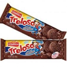 Biscoito Treloso Chocolate 60g