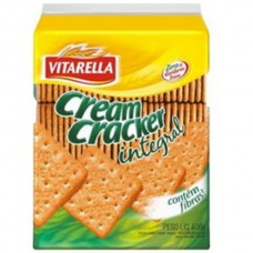 Biscoito Vitarella Cream Cracker Integral 400g