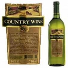 Vinho Branco Suave de Mesa Country Wine 750ml