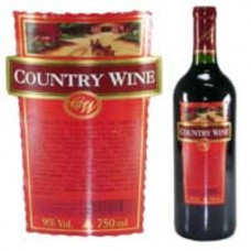 Vinho Tinto Suave de Mesa Country Wine 750ml
